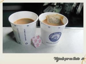 Chai: te, leche y mucho azúcar. Ideal para empezar el día.
