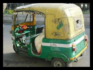 Motorickshaw de Kolkata.